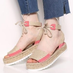 Anthropologie intentionally blank espadrilles